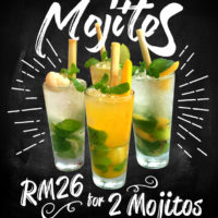 1 for 1 Mojitos